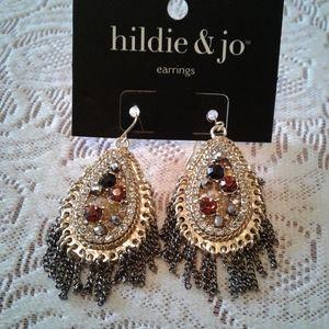 🌺 NWT Hildie & Jo Fishhook Earrings